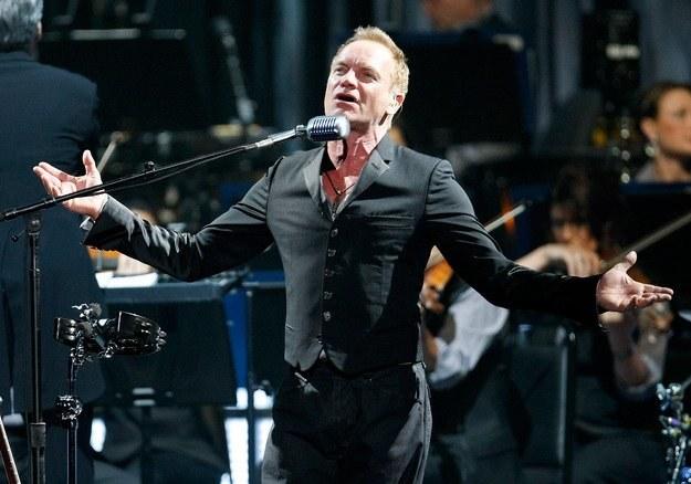 Koncert Stinga uświetni otwarcie stadionu w Poznaniu /AFP