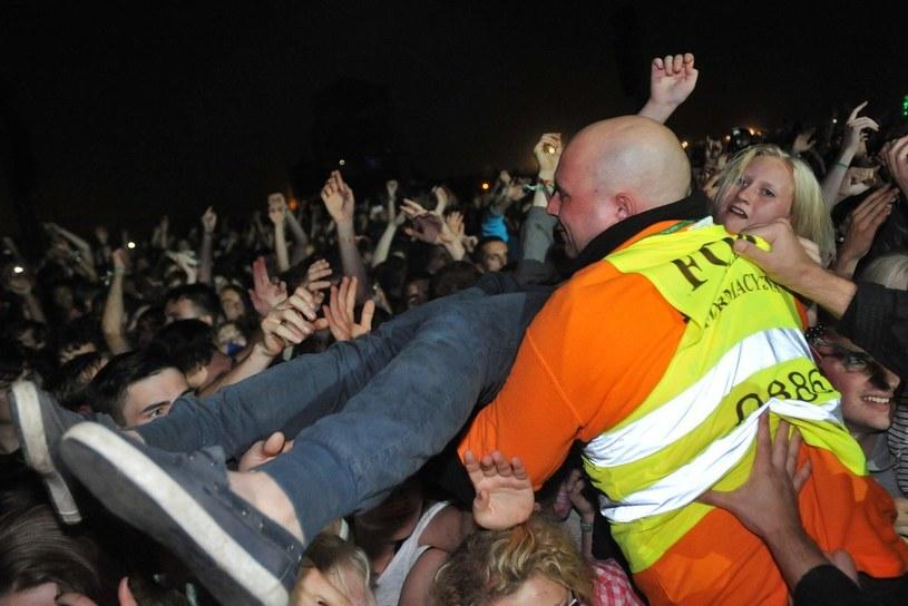 Koncerty i festiwale - tu ochroniarze mają pełne ręce roboty /East News