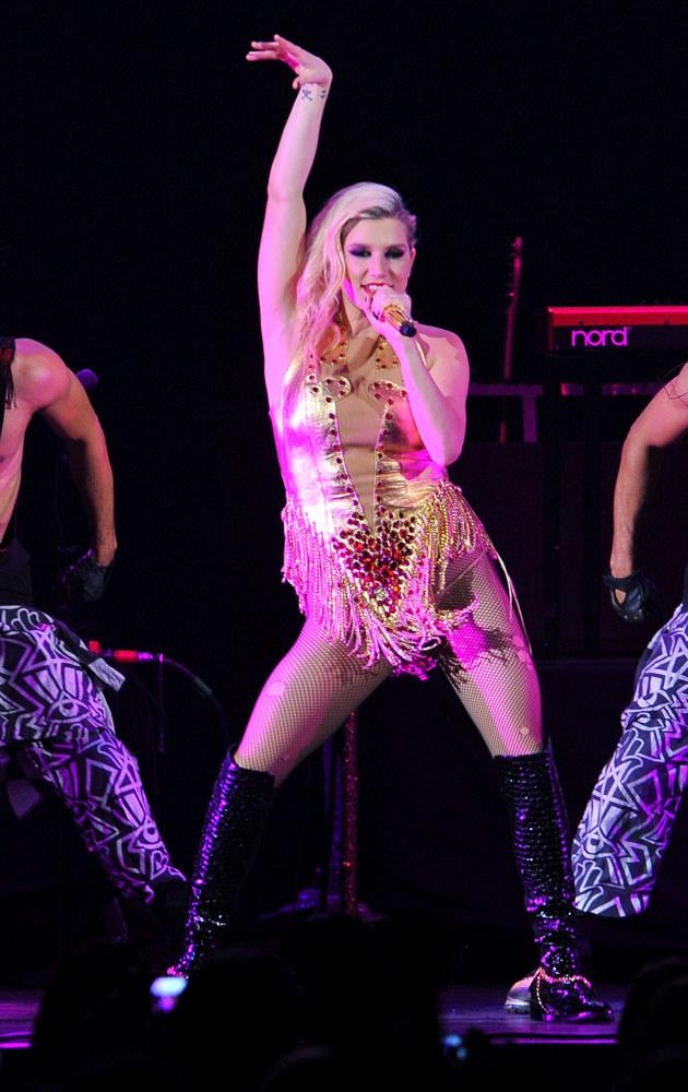 Koncerty Keshy słyną z wyuzdanej choreografii /Theo Wargo /Getty Images