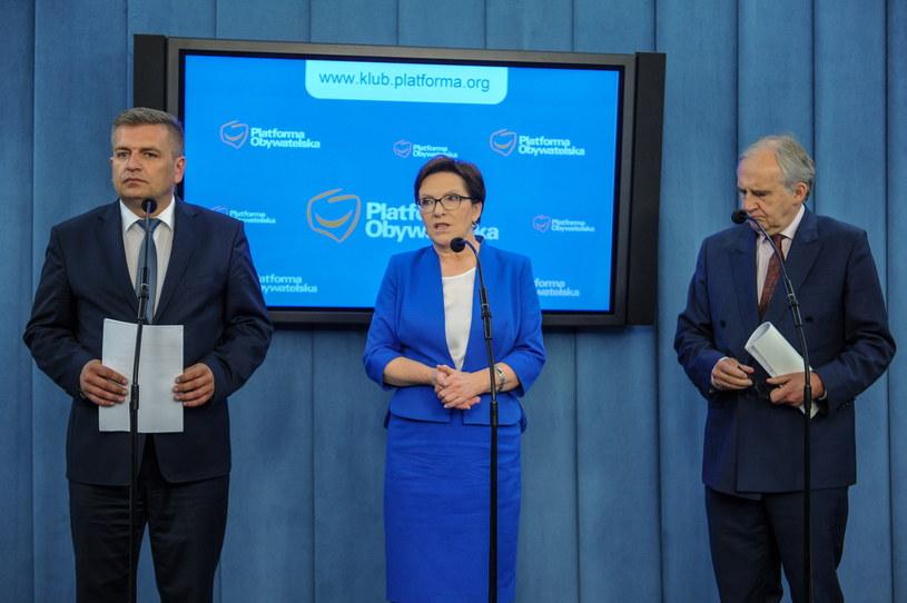 Konferencja byłych ministrów zdrowia /Marcin Obara /PAP