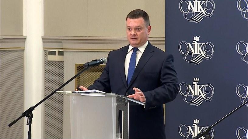 Konferencja NIK /Polsat News