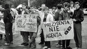 Konferencja opozycji niepodległościowej w Ramsau (maj 1989 r.). Niezgoda na paktowanie z komunistami