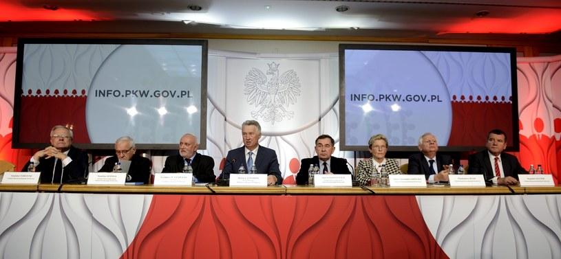 Konferencja PKW /Jakub Kamiński   /PAP