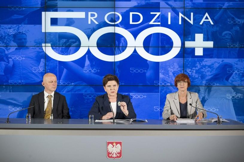 """Konferencja  podsumowująca pierwszy etap programu """"Rodzina 500 plus"""" /A. iwańczuk /Reporter"""