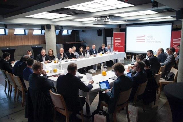 Konferencja Polskiego Instytutu Ekonomicznego. /INTERIA.PL