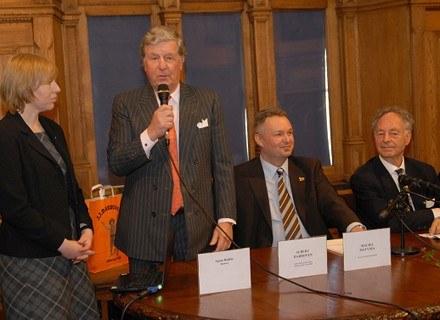 Konferencja prasowa i ogłoszenie konkursu 3 marca 2008 Ratusz Staromiejski, Gdańsk /materiały promocyjne