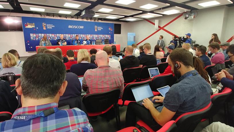 Konferencja prasowa Islandii przed meczem z Argentyną /Rafał Walerowski /INTERIA.PL