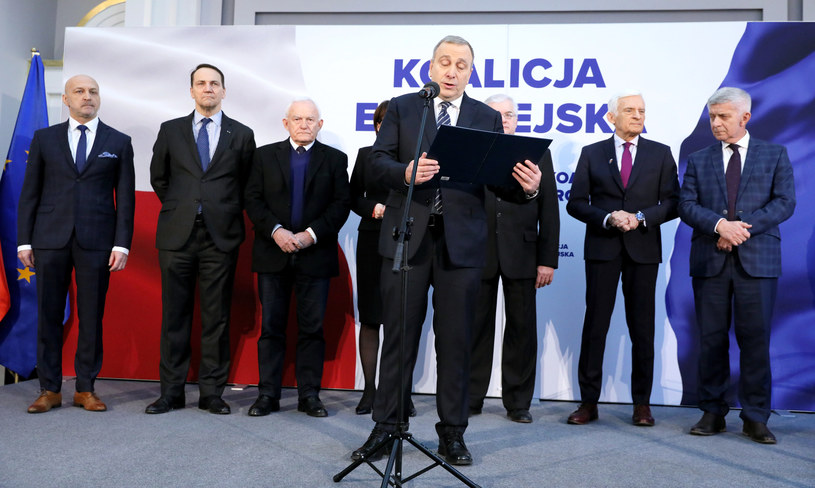 Konferencja prasowa Koalicji Europejskiej /Piotr Molecki /East News