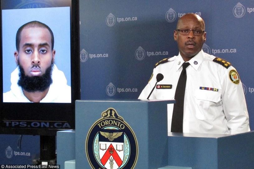Konferencja prasowa komendanta policji w Toronto /The Canadian Press /East News