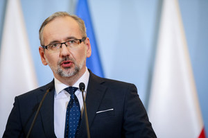 Konferencja prasowa ministra zdrowia Adama Niedzielskiego