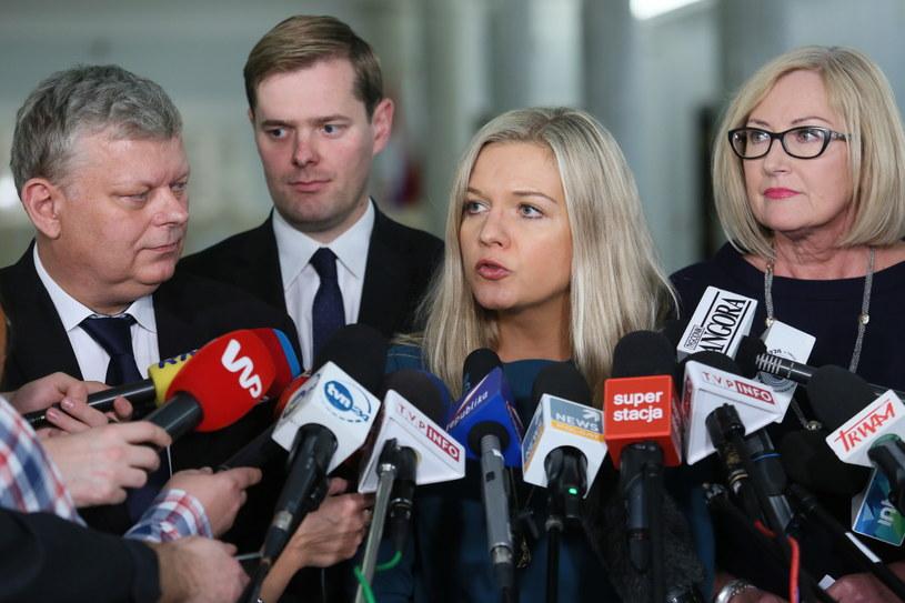 Konferencja prasowa po posiedzeniu komisji śledczej /Leszek Szymański /PAP