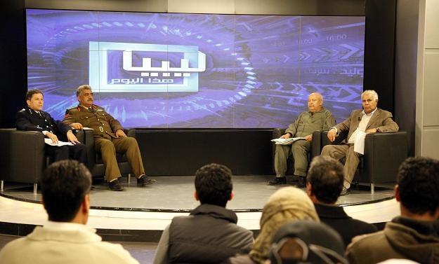 Konferencja prasowa przedstawicieli parlamentu i dowództwa wojsk lotniczych /AFP