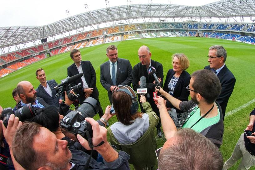 Konferencja prasowa PZPN dotycząca organizacji finałów MŚ U-20 w Bielsku-Białej /Jakub Ziemianin /Newspix