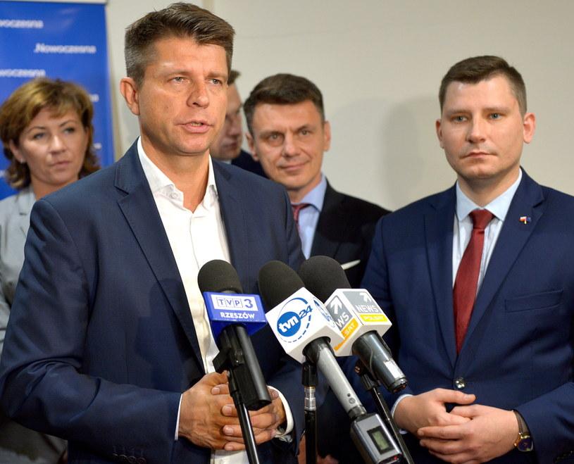 Konferencja prasowa Ryszarda Petru w Rzeszowie /Darek Delmanowicz /PAP