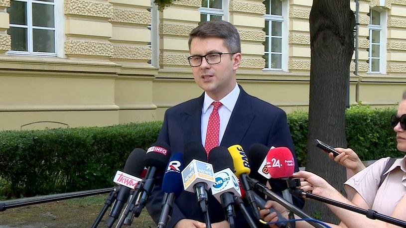 Konferencja prasowa rzecznika rządu /Polsat News /Polsat News
