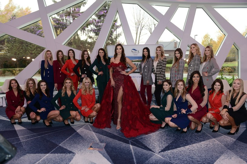 Konferencja prasowa wyborow Miss Polonia 2018 - przedstawienie kandydatek do tytulu, n/z: Agata Biernat, fot. Mateusz Jagielski /East News