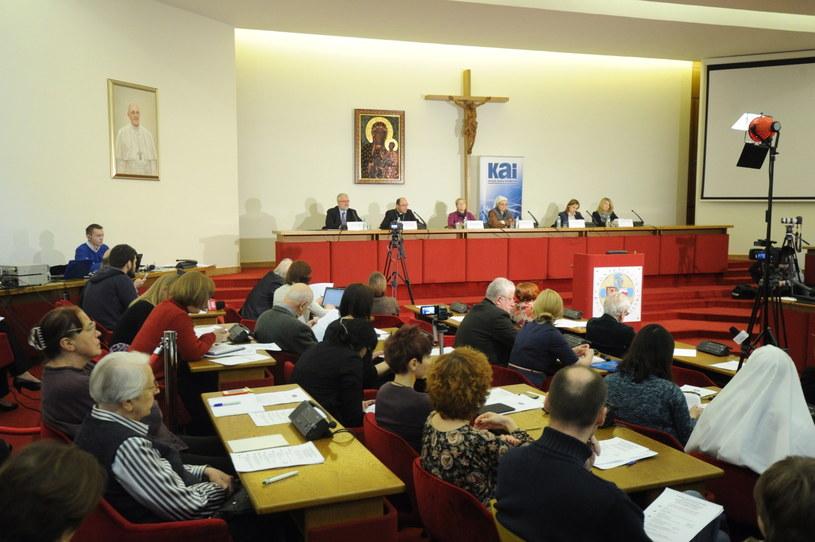 """Konferencja pt. """"Gender oczami specjalistów"""" /Grzegorz Jakubowski /PAP"""