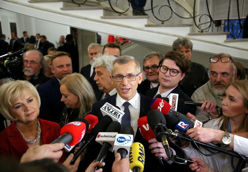 Konferencja senatorów niezależnych /Piotr Molecki /East News