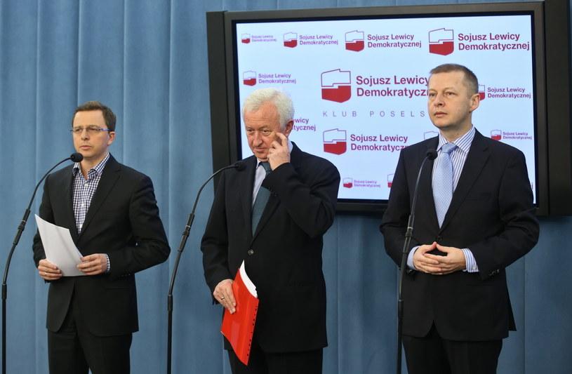 Konferencja SLD /Rafał Guz /PAP