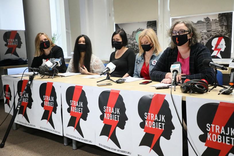 Konferencja Strajku Kobiet / Jakub Kamiński    /East News