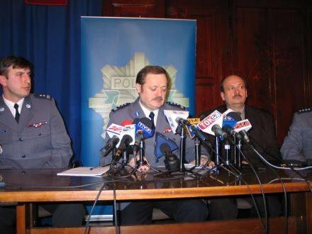 Konferencja szczecińskiej policji /RMF