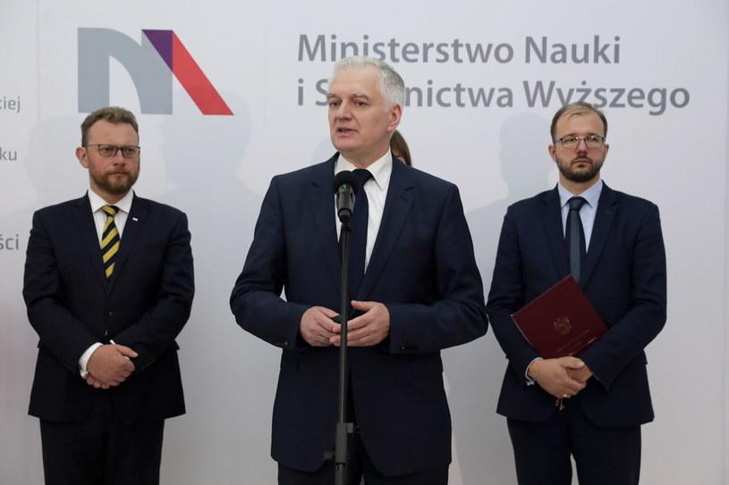 Konferencja szefa resortu nauki /Tomasz Gzell /PAP