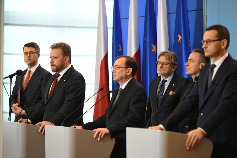 Konferencja w KPRM /Rafał Oleksiewicz /Reporter