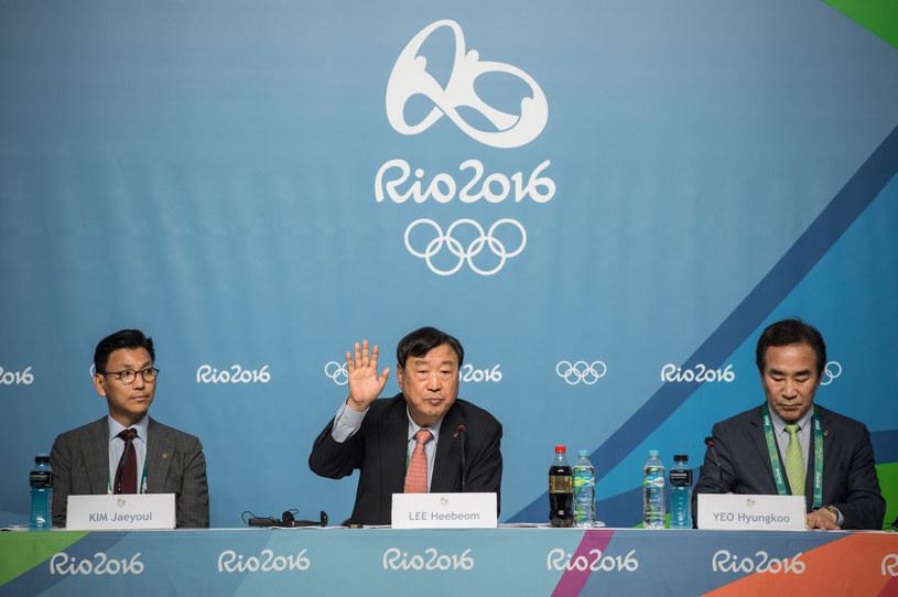 Konferencja z udziałem organizatorów zimowych igrzysk /AFP
