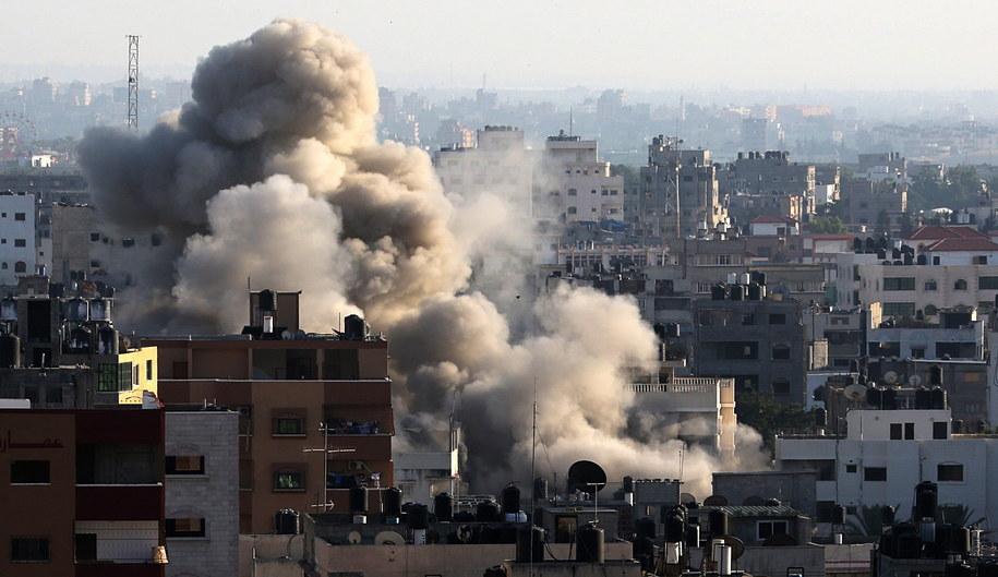 Konflikt izraelsko-palestyński przybiera na sile /MOHAMMED SABER  /PAP/EPA