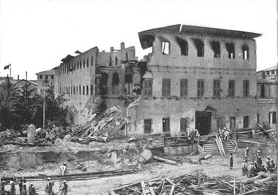 Konflikt na linii Wielka Brytania - Zanzibar przeszedł do historii, chociaż trwał zaledwie chwilę /WikimediaCommons /domena publiczna