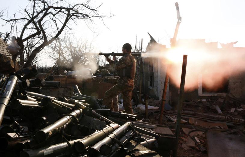 Konflikt na Ukrainie, zdj. ilustracyjne /ANATOLII STEPANOV / AFP /AFP