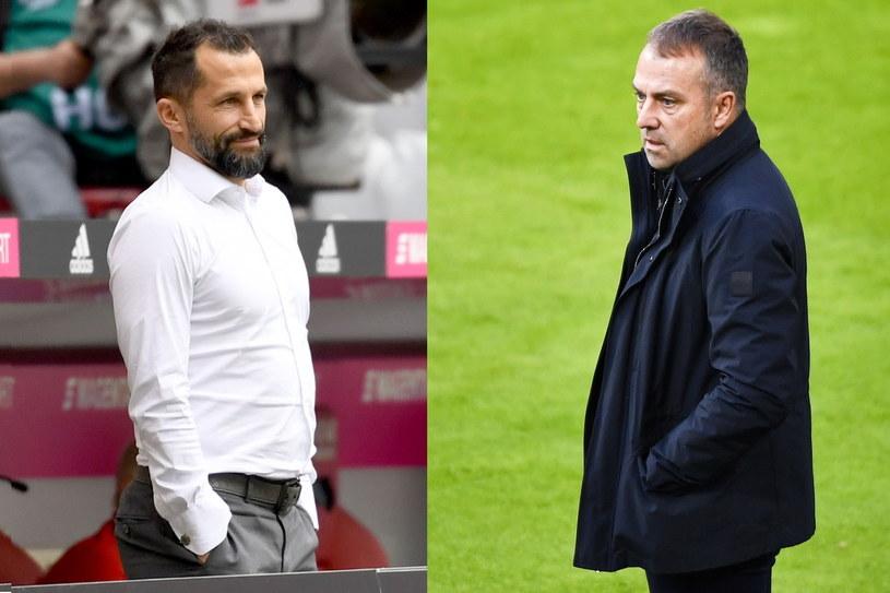 Konflikt pomiędzy Hasanem Salihamidziciem (z lewej) a Hansim Flickiem skutkował decyzją niemieckiego trenera? /AFP