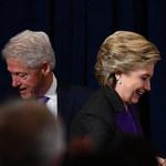 Konflikt u Clintonów na ostatniej prostej kampanii