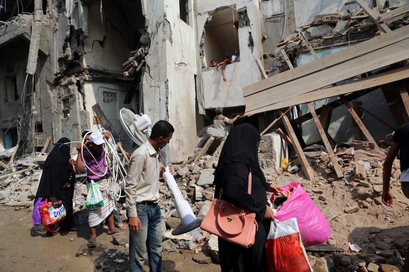 Konflikt w Jemenie /AFP