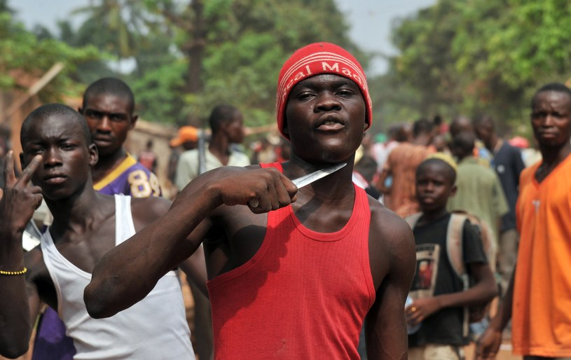 Konflikt w Republice Środkowej Afryki wybuchł z nową siłą na początku roku, kiedy z Bangi wycofały się oddziały muzułmańskich rebeliantów z koalicji Seleka /AFP
