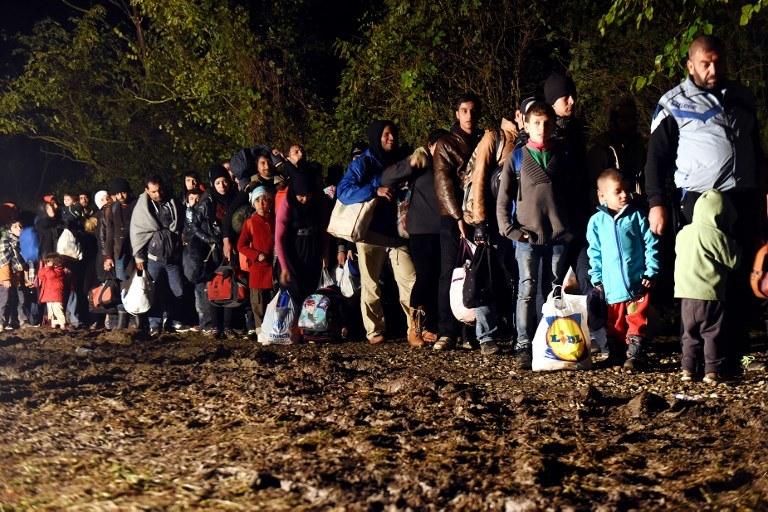 Konflikt w Syrii zmusza do ucieczki miliony ludzi / STR   /AFP