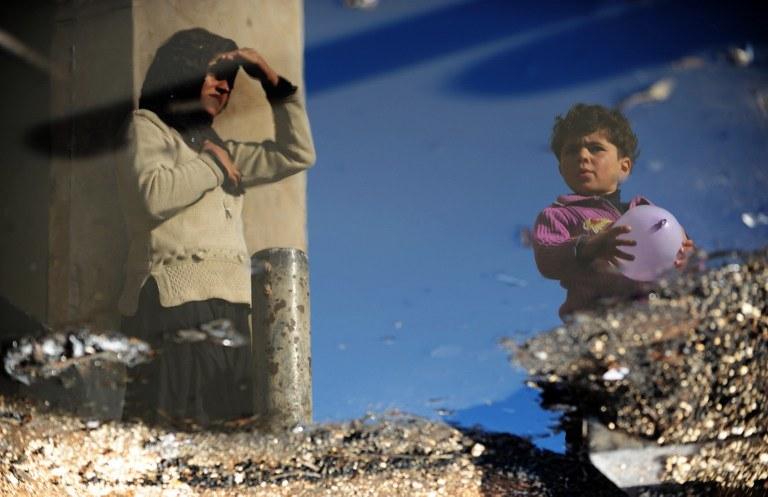 Konflikt w Syrii /AFP