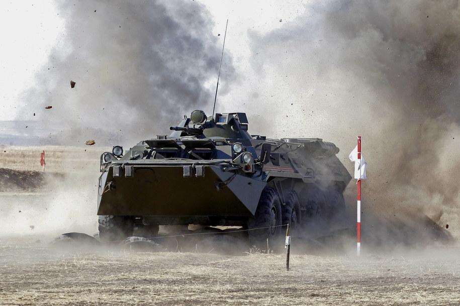 Konflikt zbrojny w Donbasie w 2014 roku /Dave Mustaine /PAP/EPA