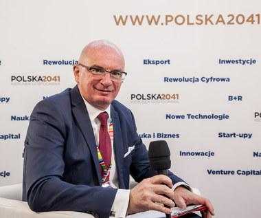 Kongres 590: Adam Łącki, prezes Krajowego Rejestru Długów BIG S.A.