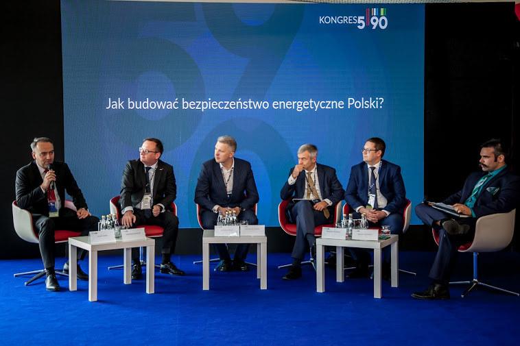 """Kongres 590, debata """" Jak budować bezpieczeństwo energetyczne Polski"""" /INTERIA.PL"""