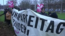 Kongres AfD w Hanowerze: Protesty i ranni