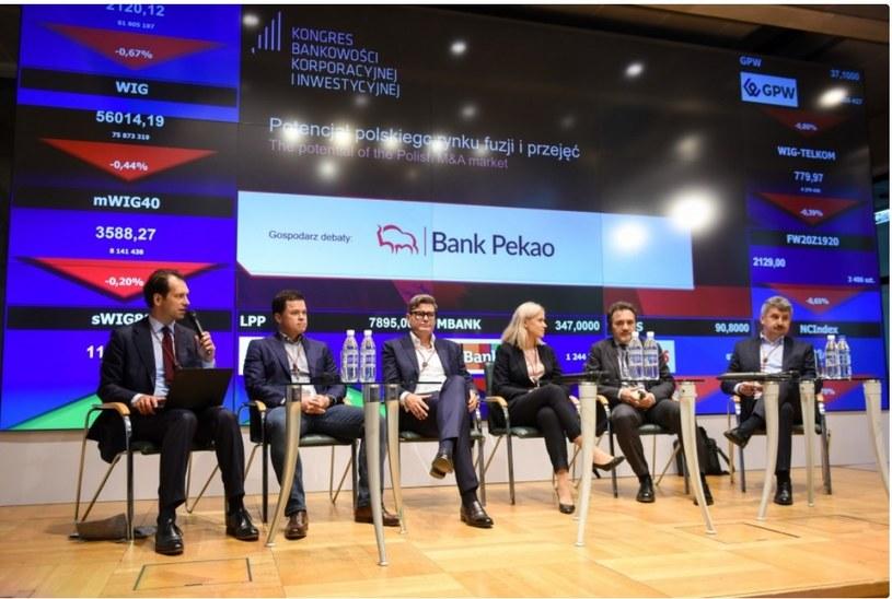 Kongres Bankowości Korporacyjnej i Inwestycyjnej w Centrum Giełdowym w Warszawie, źródło: cbc.projektekf /&nbsp