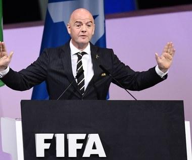 Kongres FIFA: Gianni Infantino wybrany przewodniczącym na drugą kadencję