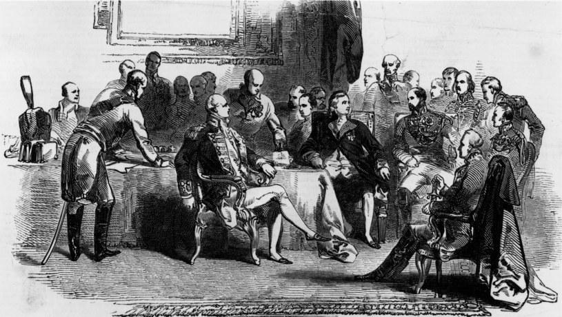 Kongres Wiedeński w 1815 roku podzielił Europę /Getty Images