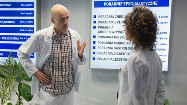 Konica otwarcie powie Klaudii, że nie ma szans, aby zostali parą. /www.nadobre.tvp.pl/