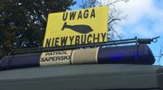 Koniec akcji saperów w Głogowie. Wywieziono 250-kilogramową bombę