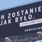 """Koniec kampanii billboardowej """"Sprawiedliwe Sądy"""""""