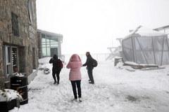 Koniec maja – a w Zakopanem śnieg