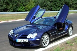 Koniec mercedesa SLR