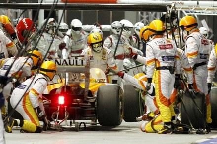 Koniec Renault w F1? /AFP